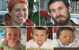 Jewish Fogel family murdered by Palestinian terrorists