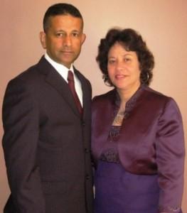 Pastor Daniel & wife Maryse