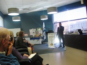 Pr Daniel ministering at Kesher Hamnenorah It\'s Time To Speak Up Conference in Geelong