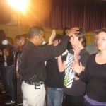 Pr Daniel ministering in Sunbury