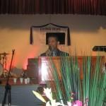 Pr Daniel ministering in Keilor Downs