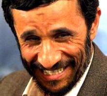 Iran President Mahmoud Ahmadinejad