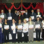 Pr Daniel and Maryse with some of the credentialed ministers