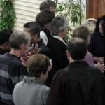 Pr Daniel and Pr Des ministering to people in Mildura