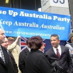 Pr Daniel at the first announcement of the Rise Up Australia Political Party