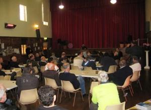 Pr Daniel ministering at Men\'s Breakfast in Wagga Wagga, NSW