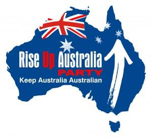 Rise Up Australia Political Party Logo