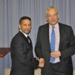 RUAP Party President Daniel Nalliah and Lord Christopher Monckton