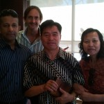 Pr Daniel with Bro Yun, his wife and RUA Party Member