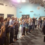 Ministering at the altar in Geraldton, WA