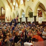 Part of 700 Aussie Christians praying for Australia's Transformation