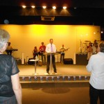 Preaching at Dream Life Church in Perth