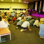 Christians repent on their knees on behalf of the Church and Nation