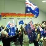 Multi-Ethnic Australians Worshiping the Lord Jesus Christ