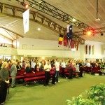 Pr Daniel worshiping at the church on the Gold Coast where he ministered