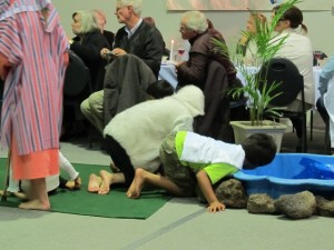 Children in the Passover Play