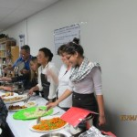 Serving the Passover Meal