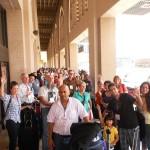 CTFM team arrives at Jordan airport