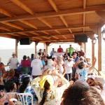 Praying on Sea of Galilee Boat Ride