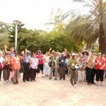 Part of CFTM team in Israel