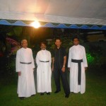 Pr Daniel with Anglican Ministers in Sri Lanka