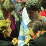 Evangelist Vera praying for miracles of Jesus