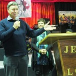 Husband & wife share testimony
