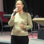 Patrica testifies of God's goodness on tour