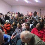 Spontaneous outbreak of rejoicing during Ps Robert preaching Word of God