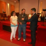 Couple shares testimony of restoration at combined churches revival meeting in Toronto, Canada