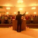 Ministering at AOG church in Baton Rouge, Louisiana
