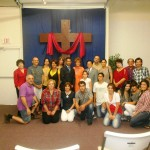 Pr Daniel at Iranian church in California with mostly Muslim converts to Christ