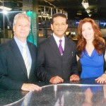 Pr Daniel with CBN Journalists Wendy & Gary
