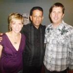 Pr Daniel with Pr Don and hise wife Cresta in California