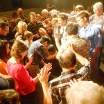 Pr Don, Pr Wally and church pray for Pr Daniel