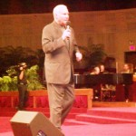 Pr Jimmy Swaggart singing before Pr Daniel preaches Word of God