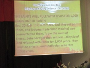 Ruling and Reigning in our Lord Jesus Christ's Millennium Kingdom
