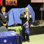 RUAP QLD President opens meeting in prayer