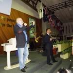 Pr Steve Ryder & Pr Daniel leading worship and intercession