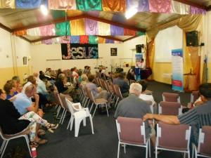 Pr Daniel speaking at Church of Living Waters in Mildura