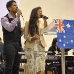 Pr Daniel's children Nigel & Shannen singing special worship song