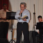 Scripture reading by Pr John
