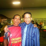 Indigenous man embraces RUAP and National President Daniel Nalliah
