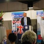Lord Monckton addresses RUAP launch