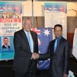 RUAP National President Daniel Nalliah with Lord Christopher Monckton