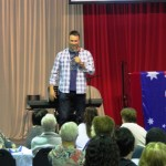 Guest Artist & Comedian Ben Price performed and had the crowd in fits of laughter