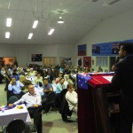 RUAP National President & Vic #1 Senate Candidate Daniel Nalliah speaking at Fundraiser dinner