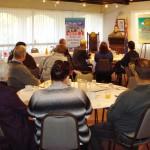 RUAP National President Daniel Nalliah speaking at Leaders & Guest Breakfast in Toowoomba