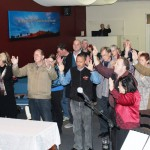People respond to altar call in Albury