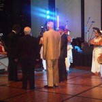 RUAP National President with Mr Fernando (Founder of Dilmah Tea) and other Dignitaries Lighting Traditional Oil Lamp